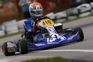 DiLeo took DD2 pole to kick the weekend off at Mosport (Photo: IPK North America)