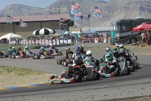 Large fields are expected for next weekends SKUSA SummerNationals at Grand Junction Motor Speedway (Photo: On Track Promotions - otp.ca)