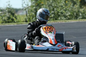 Alex Tartaglia won four races on the weekend, two in Rotax Senior and two in DD2 (Photo: dreamscaptured.net)