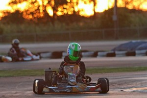 Rotax Junior saw Jesse Woodyard at the front of the field from sun up to sun down (Photo: dreamscaptured.net)